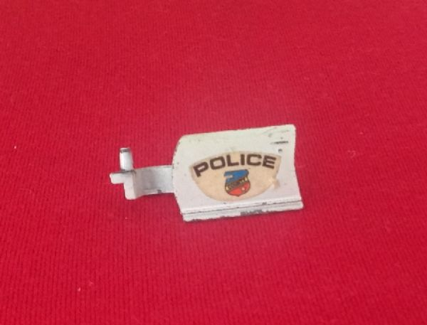 Corgi #326 - Original - Chevrolet Caprice Police Car Left Hand Door